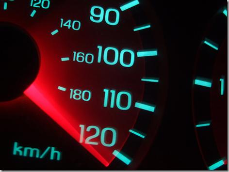 La aceleración: