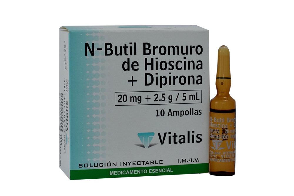 HIOSCINA BUTILBROMURO + DIPIRONA