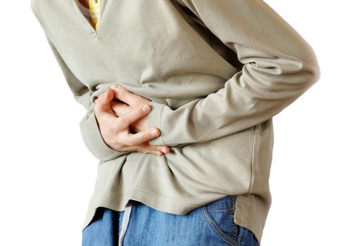 Chapoteo abdominal