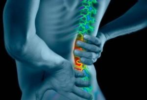 dolor en la columna vertebral