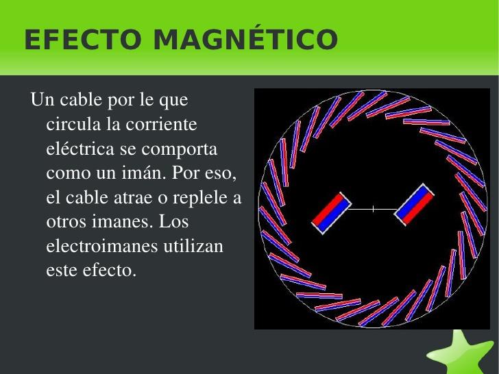 efecto magnetico